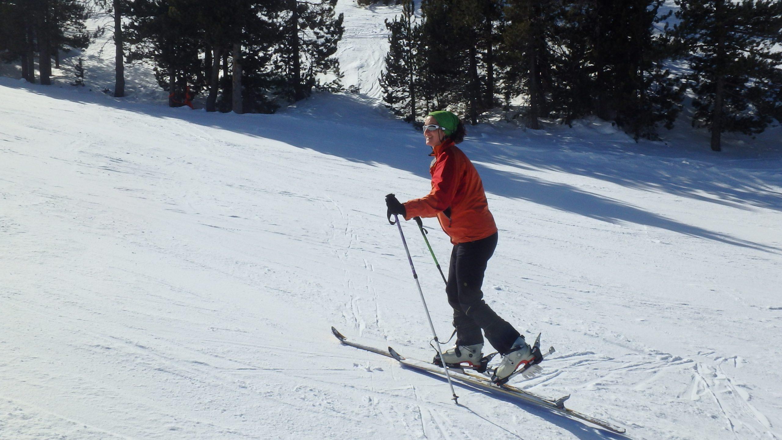 curso iniciación esqui montaña cerdanya